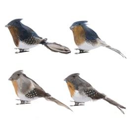 Uccellino colori assortiti 11 x 7 x 5 cm