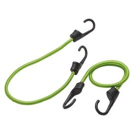 2 corde elastiche con ganci semplici in plastica