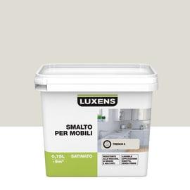 Smalto Per mobili Luxens Marrone Trench 6 satinato 0,75 L