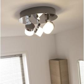 Barra a 3 luci Inspire Coos cromo LED integrato