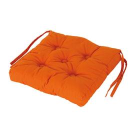 Cuscino per sedia Clea arancione 40 x 40 cm