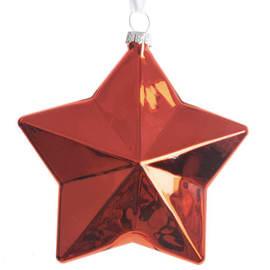 Stella rossa 8,7 x 9,7 x 3,2 cm