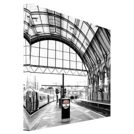 quadro su tela Beware Trains 65x65
