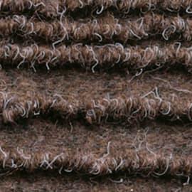 Passatoia al taglio Eco-stripe marrone 65 cm
