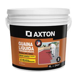 Impermeabilizzante tetti, terrazze, coperture liquido Guaina Liquida 4 L