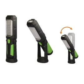 Lampada da lavoro 8 led +1 led verde