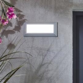 Faretto incasso per esterno a parete Bronson LED 23 x 3,3 cm IP44
