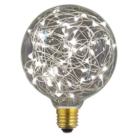 Lampadina decorativa LED E27 =10W globo luce naturale 360°