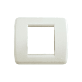 Placca 2 moduli Vimar Idea bianco