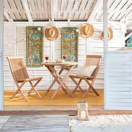 Set tavoli e sedie per balconi e terrazzi: prezzi e offerte| Leroy ...