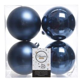 Box sfere blu ø 10 cm