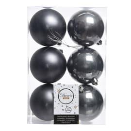 Box sfere grigio antracite ø 8 cm