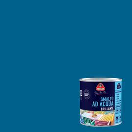 Smalto Boero all'acqua blu zafiro brillante 0.5 L