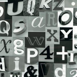Pellicola adesiva lettering 45 cm x 2 m