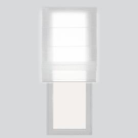 Tenda a pacchetto bianco 100 x 250 cm