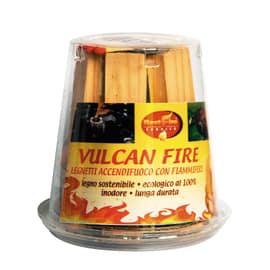 Legnetti accendifuoco Vulcan fire marrone 8 x 9 x 6 cm 60 g