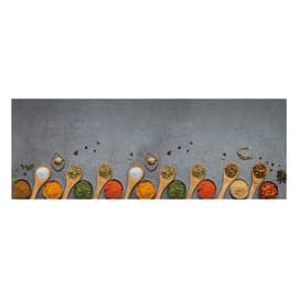 Tappetino cucina antiscivolo Relax spezie grigio 50 x 100 cm