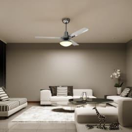Ventilatore da soffitto con luce Cilaos