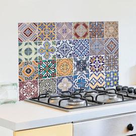 Sticker Kitchen Pannel Azulejos