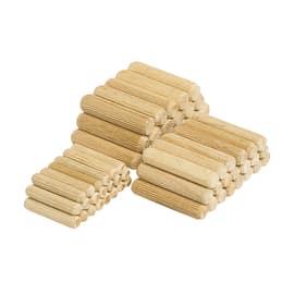 Spine di giunzione marrone ø 8 x 40 mm