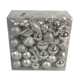 Box pendenti assortiti argento misure assortite