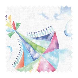 Tessuto su ordinazione Kite multicolor