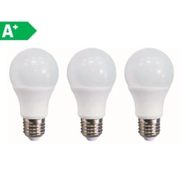 3 lampadine LED Lexman E27 =60W goccia luce naturale 300°
