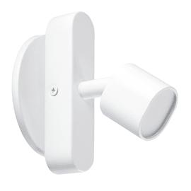Faretto singolo Inspire Flut bianco LED integrato