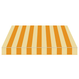 Tenda da sole a bracci Tempotest Parà 350 x 210 cm beige/giallo Cod. 69