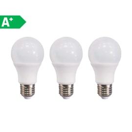 3 lampadine LED E27 =100W goccia luce naturale 300°