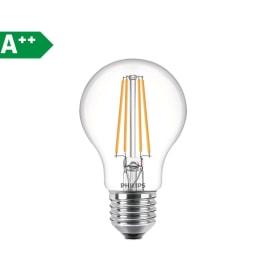 Lampadina LED Filamento E27 =60W goccia luce fredda 360°