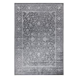 Tappeto Soraya grigio scuro 160 x 230 cm