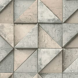 Carta da parati Legno 3D grigio 10 m