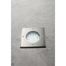 Faretto incasso per esterno a pavimento Otaki LED 12 x 12 cm IP44