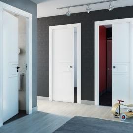 Porta da interno battente Seventy bianco 80 x H 210 cm sx