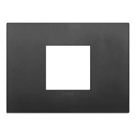 Placca 2 moduli Vimar 19652.71 Arké nero