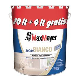 6486fdb96cf91 Idropittura lavabile bianca Max Meyer Subito Bianco 14 L