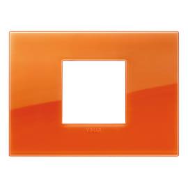 Placca 2 moduli Vimar 19652.63 Arké orange