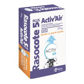 Intonaco di finitura Rasocote 5 plus Activ'Air® 25 kg