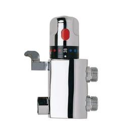 Valvola termostatica per rubinetto a pedaliera