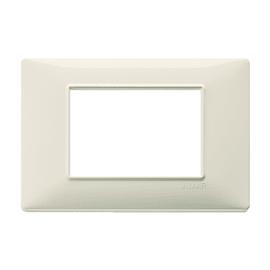 Placca 3 moduli Vimar Plana beige