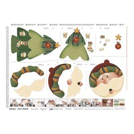 Carta Santa's Face 50 x 70 cm