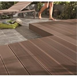 Pavimenti in legno e plastica per esterni leroy merlin for Piastrelle plastica giardino leroy merlin