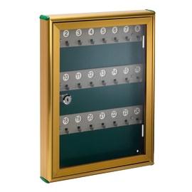 Bacheca porta chiavi CLIPPER 24 posti bronzo 29 x 4 x 37 cm