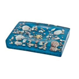 Porta sapone Antille azzurro
