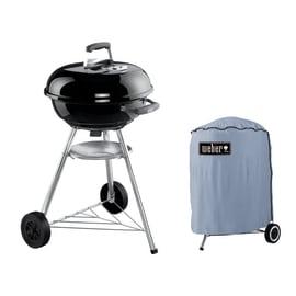 Barbecue a carbonella Weber Compact Kettle Ø 47 con custodia
