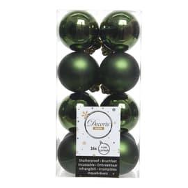 Box sfere verdi ø 4 cm