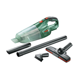 Aspira solidi a batteria Bosch PAS18LI (corpo macchina). Potenza di aspirazione 4,2 Kpa, serbatoio da 1L