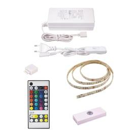 Kit striscia LED estensibile Inspire luce RGB e bianco m1,5