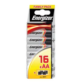 Pila alcalina stilo AA Energizer Family pack